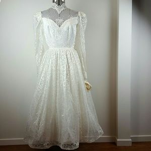 Deadstock Vintage 60's Wedding Dress